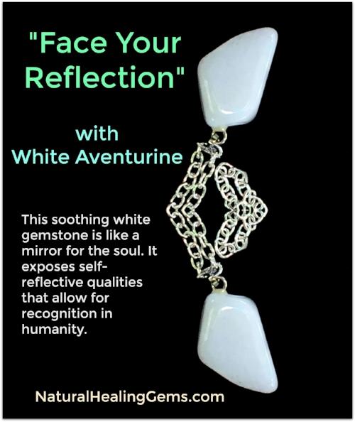 White Aventurine Gemstone Jewelry