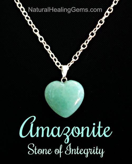 Amazonite gemstone jewelry