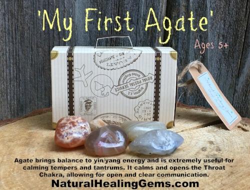 My First Agate Gemstones