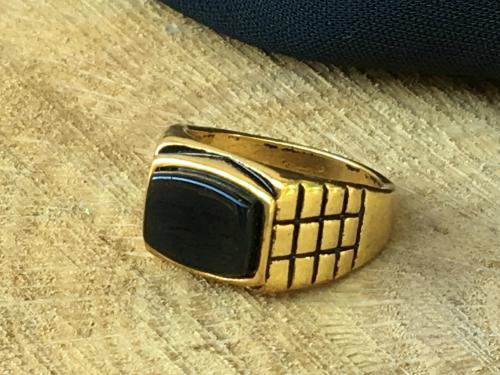 Black Obsidian  wrapped pillar pendant