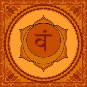 "Svadhisthana Chakra  Mantra: ""Vam""  Color: Orange"