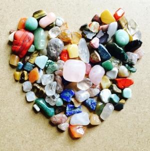 Gemstones heart - natural healing gems about us