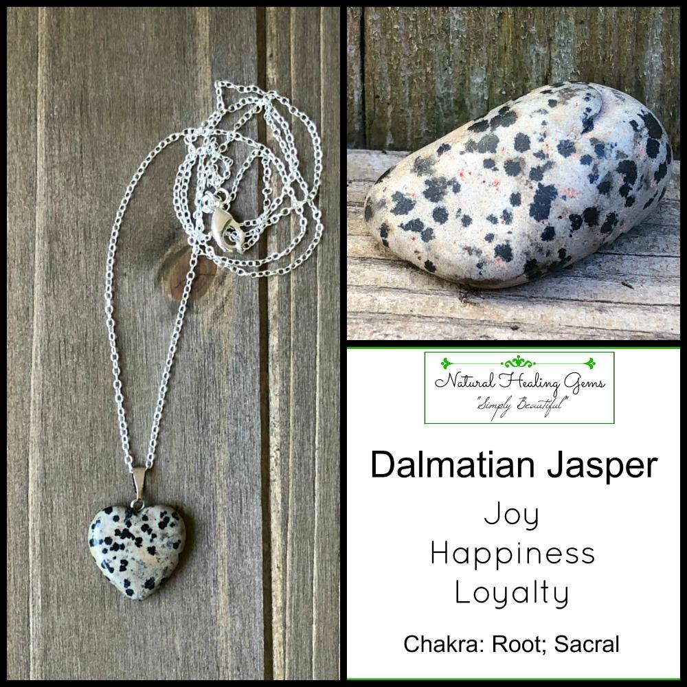 Dalmatian Jasper - Stone of Child-Like Joy