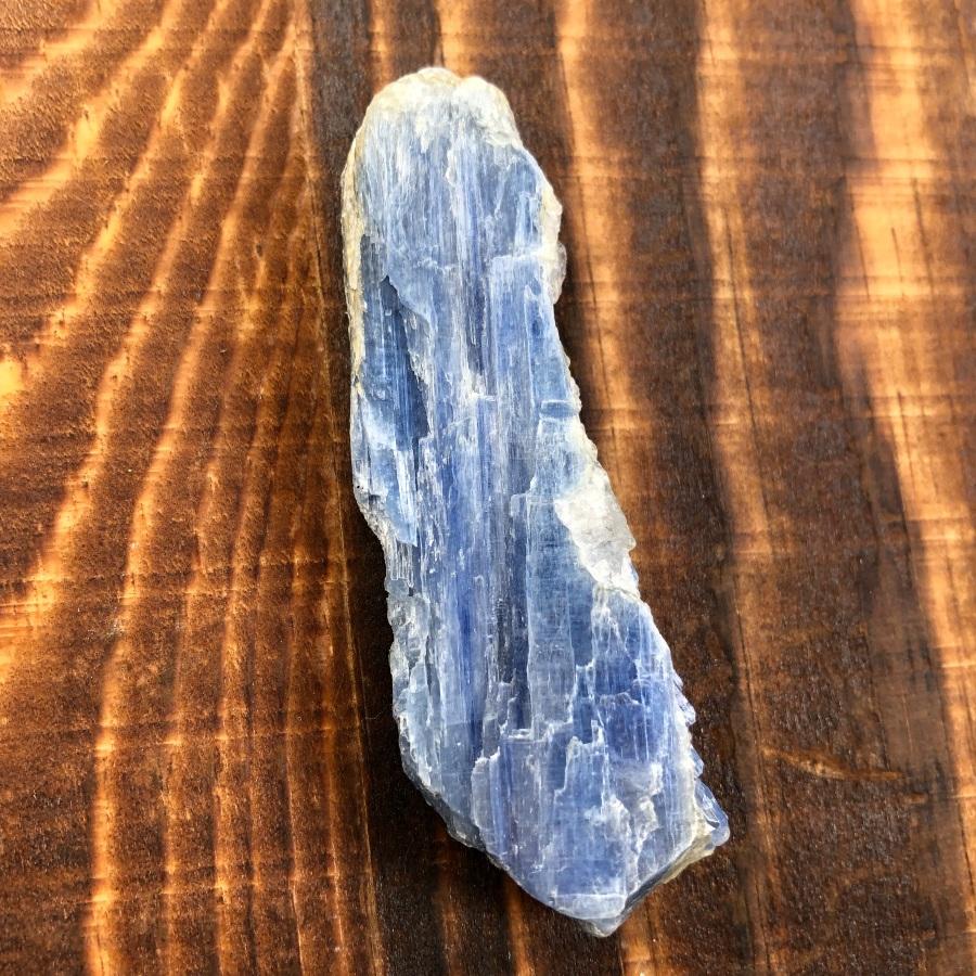 Kyanite: Stone of Spiritual Guidance  Chakras:  Throat,  All  Zodiac:  Pisces,   Libra ,  Taurus ,  Aries