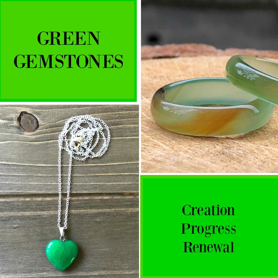 green gemstones meaning