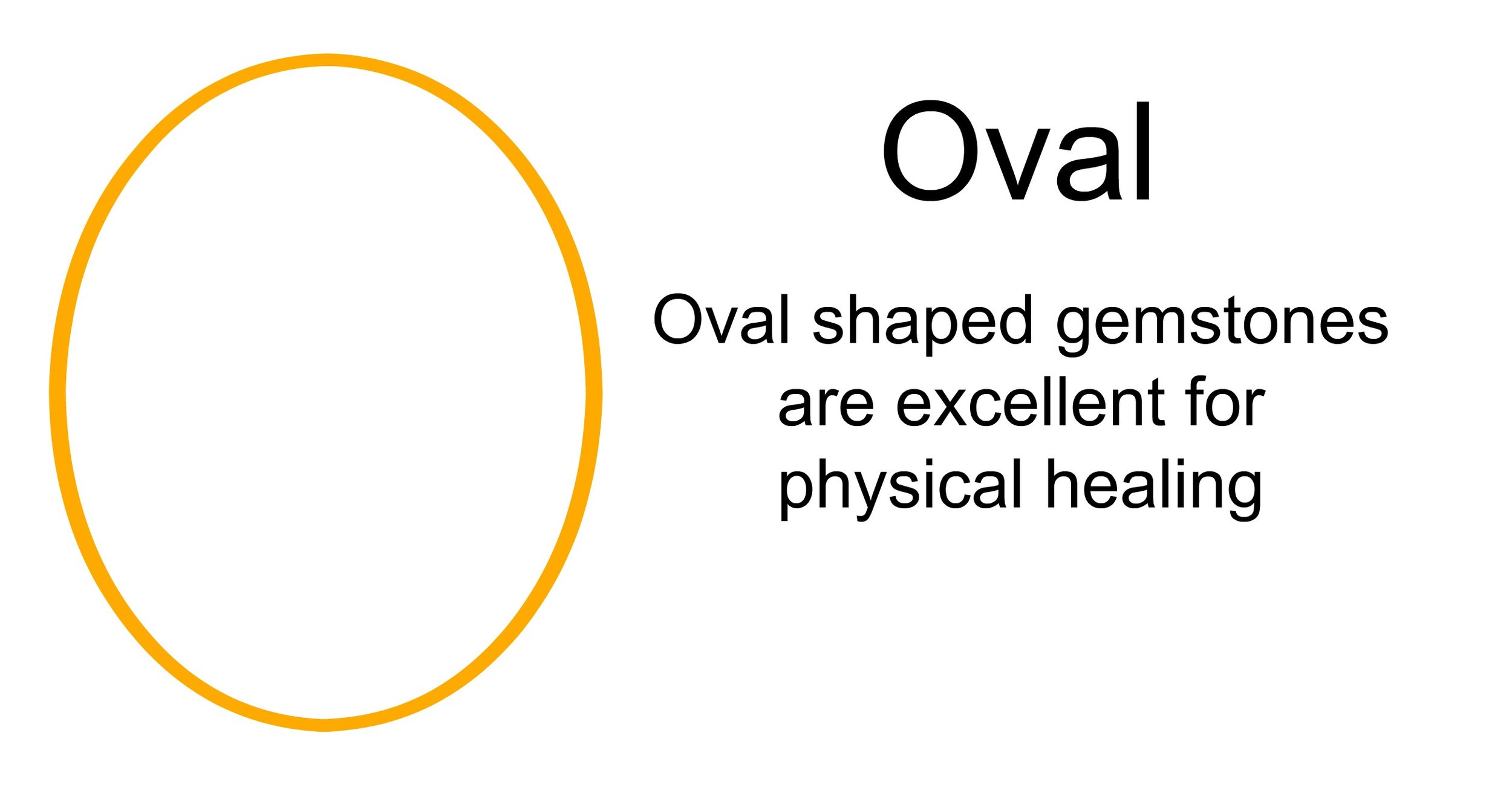 oval shaped gemstones meaning