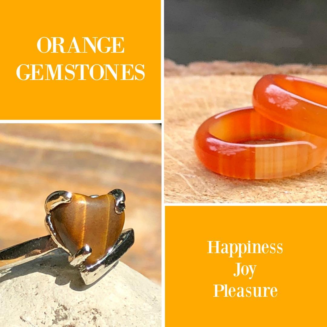 orange gemstones meaning