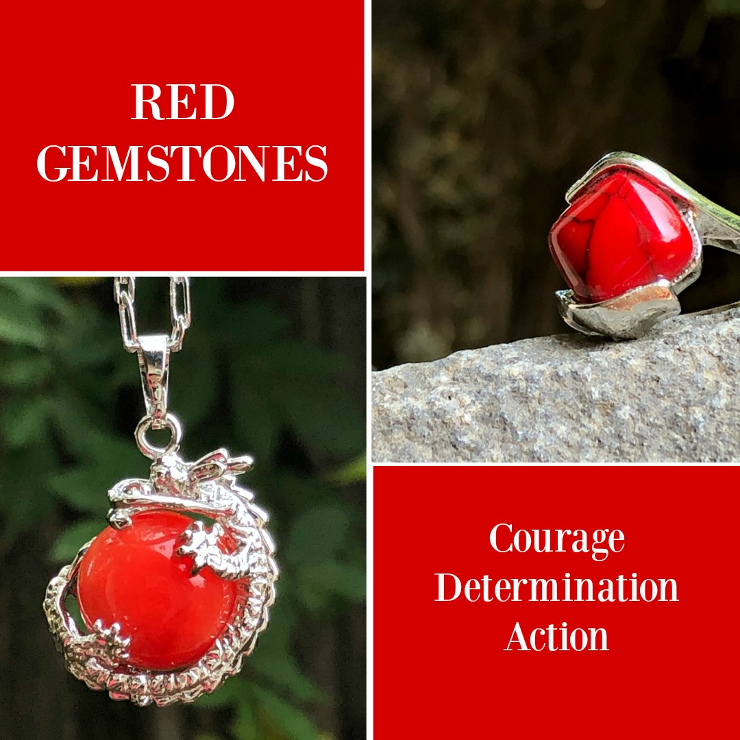 red gemstones meaning