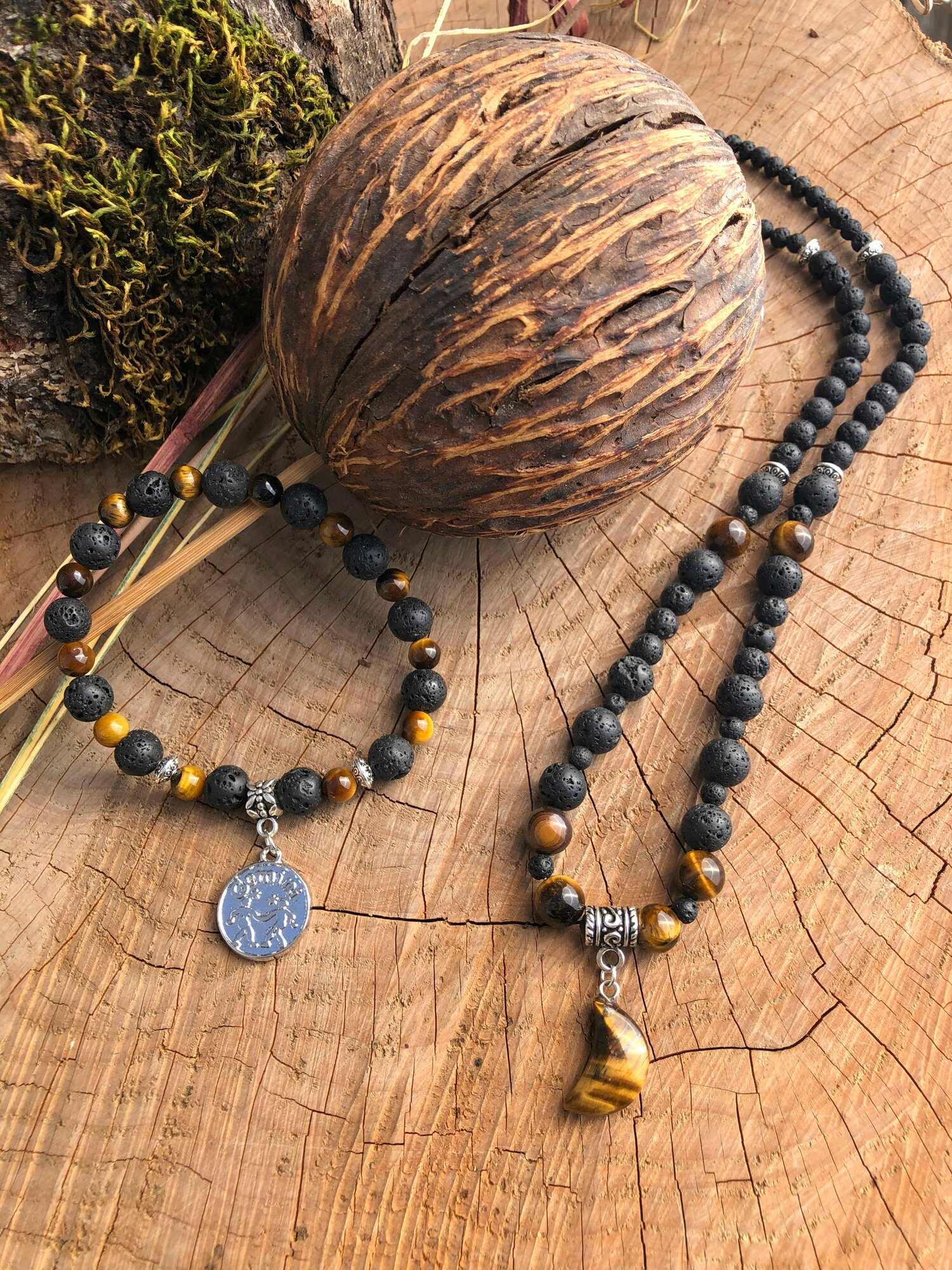 Gemini Bracelet and Necklace Set