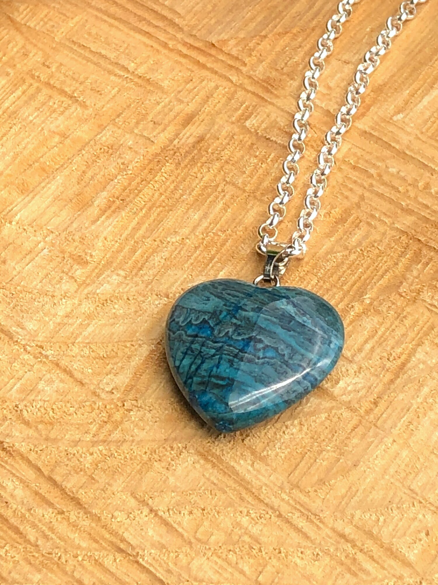 Crazy Lace Blue Agate Pendant,Laughter Crystal