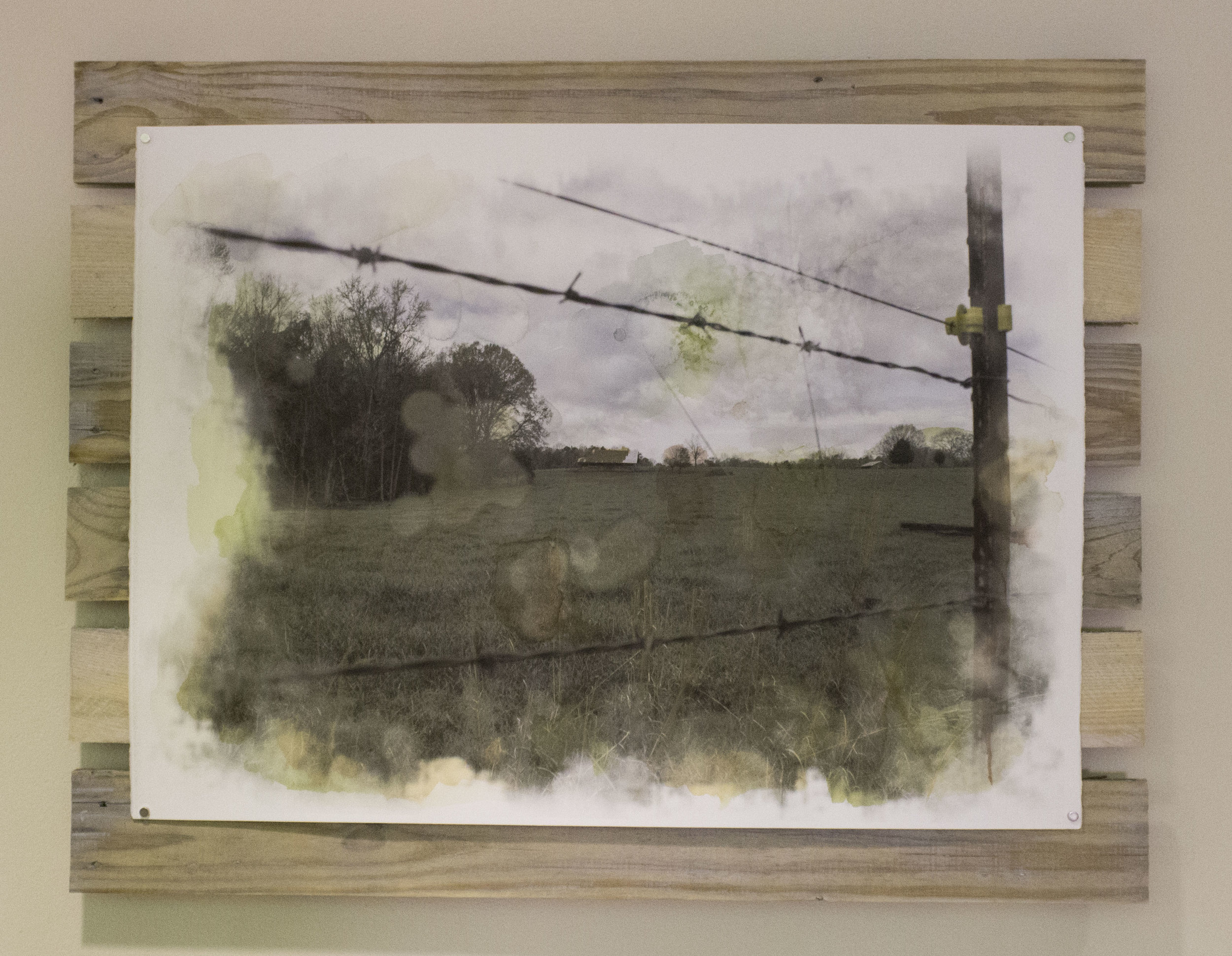 Farmland on Pallet Frame