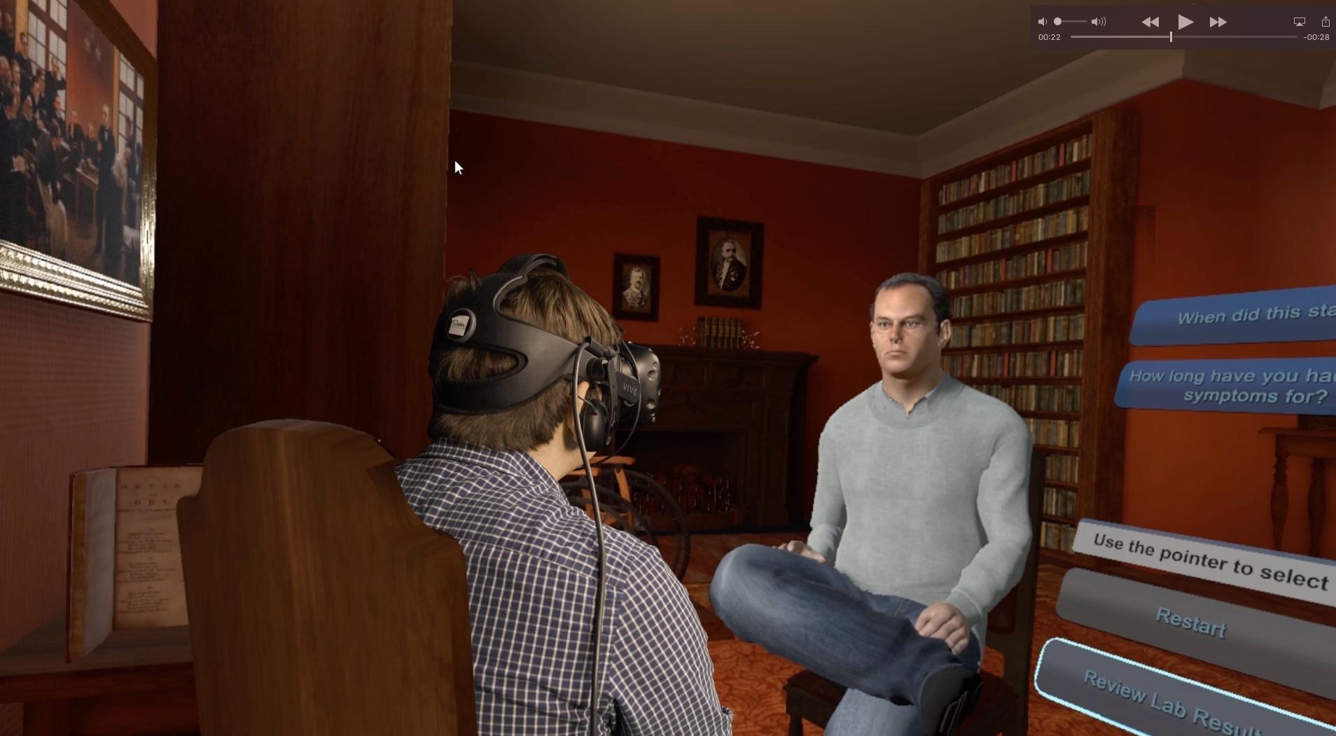 Novartis Australia - Virtual Reality Patient Diagnosis -