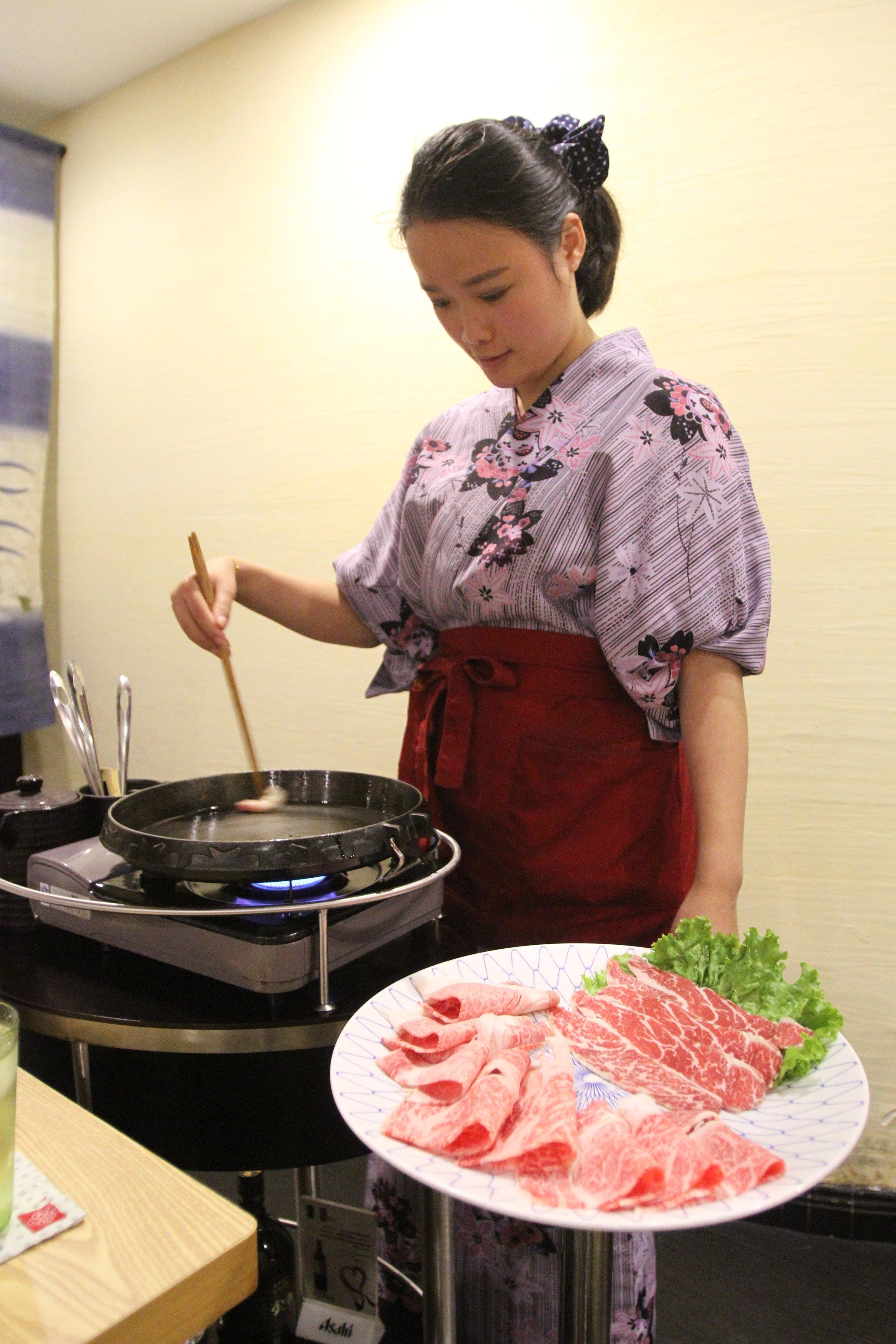 A5 Grade Wagyu Sukiyaki @ Motoya