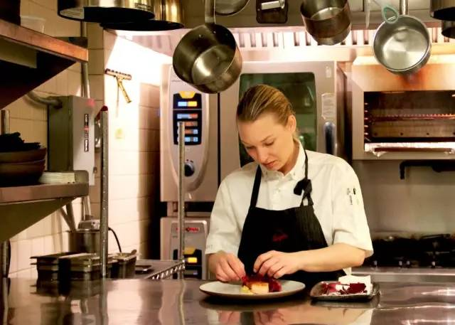 here's antoher pastry chef turned chef  Emma Bengtsson, Aquavit