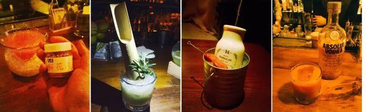 ▲Sakura Martini,Sakura Shrimp bloody mary, etc.