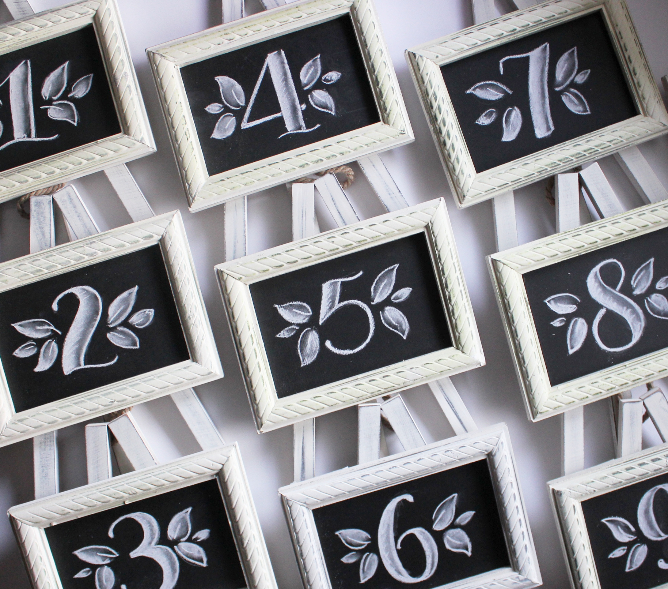 Table Numbers •  $6 each