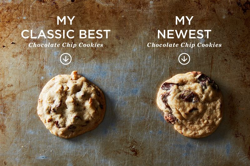 How do Dorie Greenspan's two chocolate chip cookie recipes stack up?