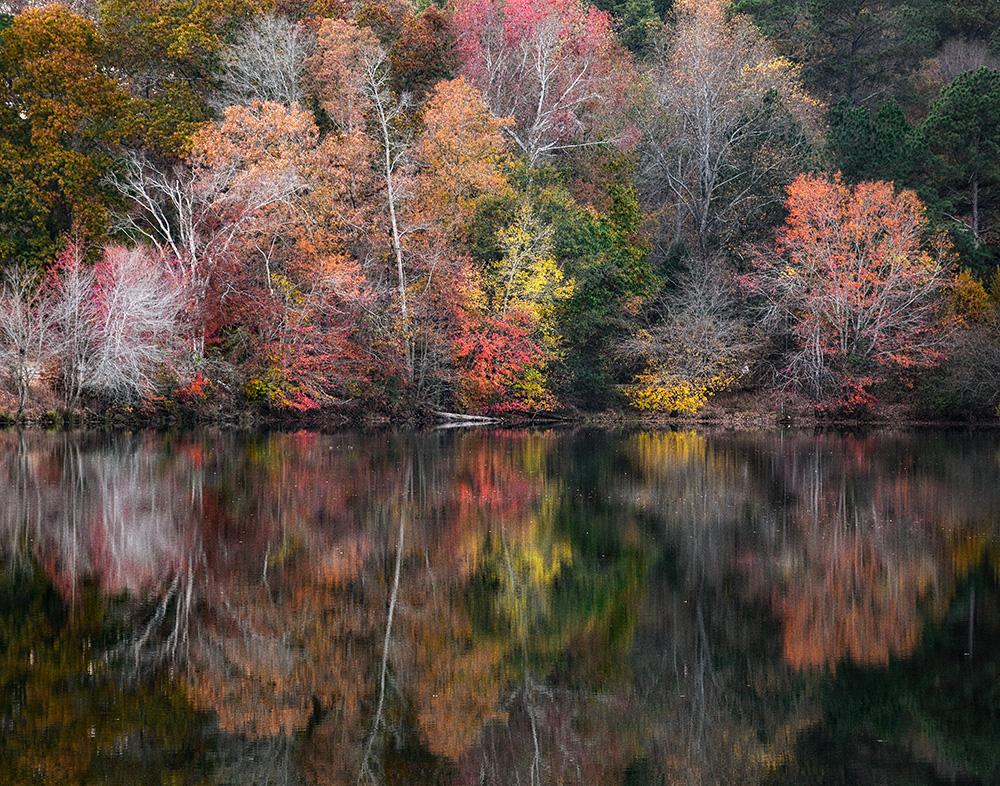 Kaleidoscope Miller Lake, Dacual, GA Fall 2016
