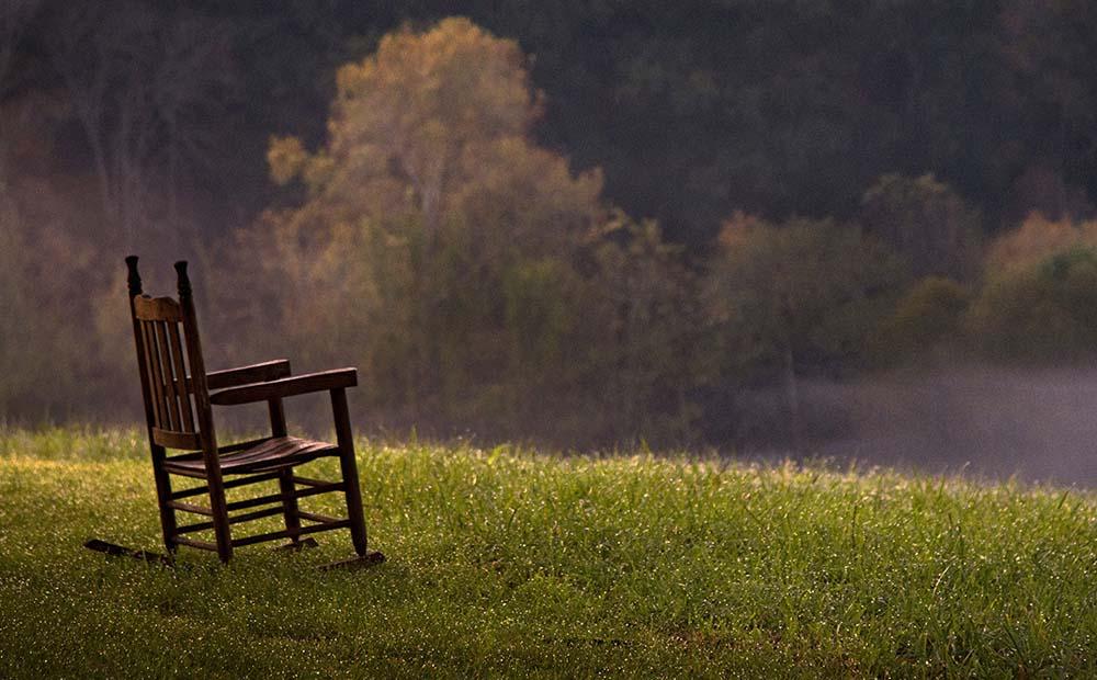Resting Place Roadside John C. Campbell Folks School Brasstown, NC Fall, 2017