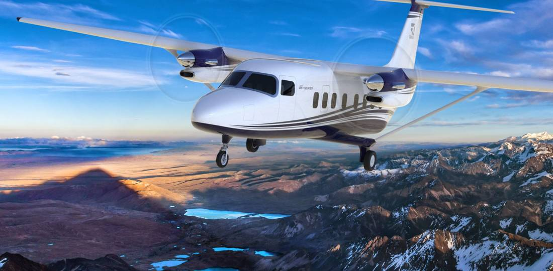FedEx Express placed a firm order for 50 copies of Cessna's SkyCourier and holds options for another 50, in a deal valued at $550 million at list prices.