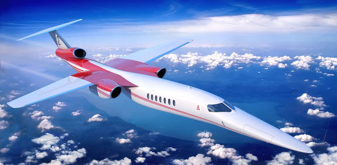 Aerion forged a working agreement with Lockheed Martin to take advantage of the latter's expertise with supersonic aircraft. (Photo: Aerion)