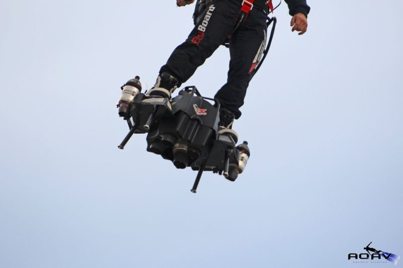 The Flyboard Air is a personal flying machine that was unveiled in 2016.