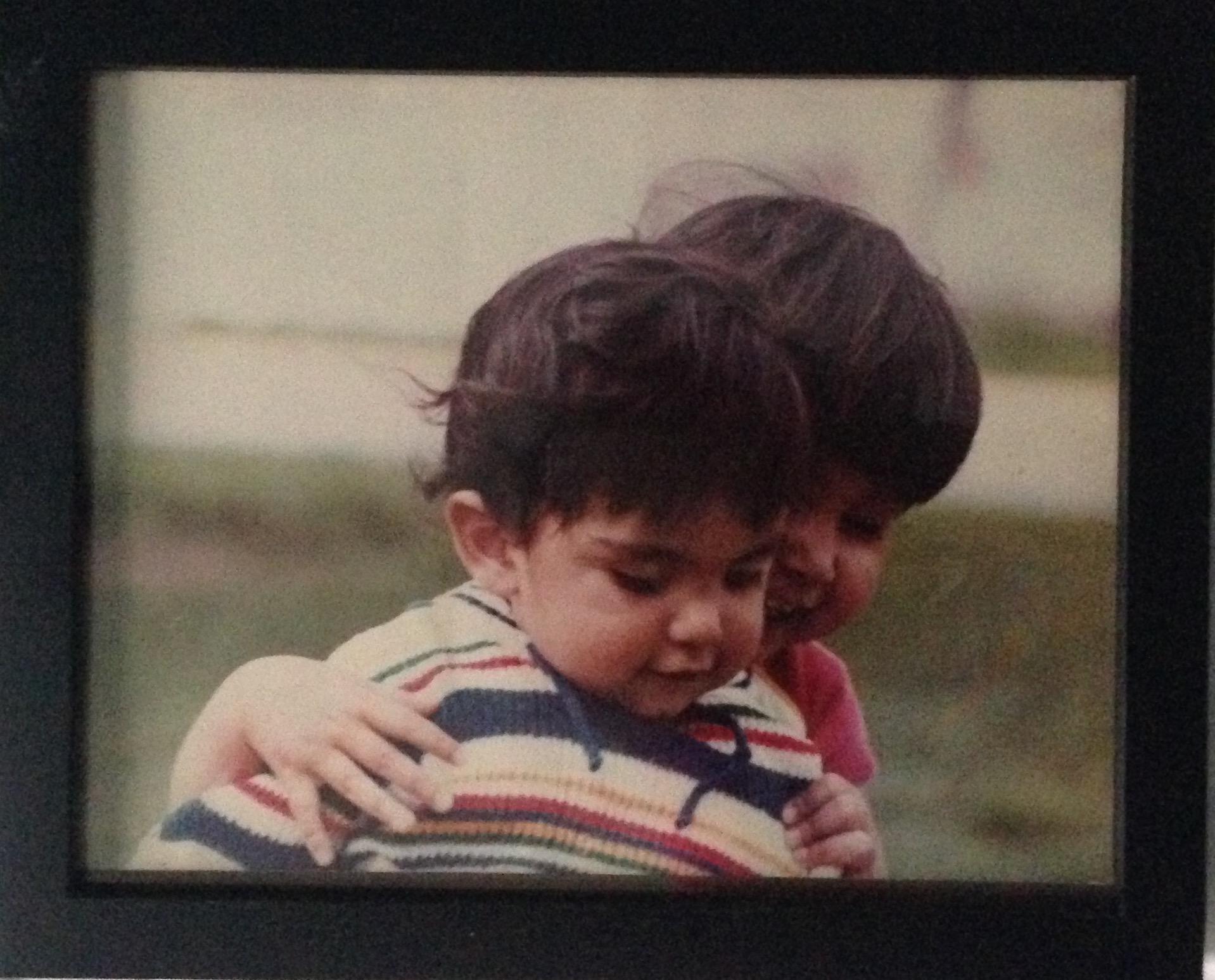 Antonio & Lorena circa 1982. Crédit photo: Lorena Girón Orozco