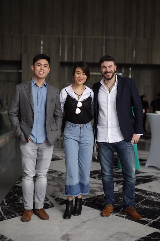 Kendrick Wong, Rebecca Yap, Giulio Xiloyannis