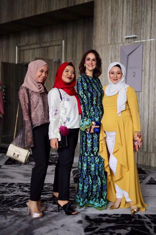 Nina Aziz, Amira, Rayne Reed, Shasha Ahmad