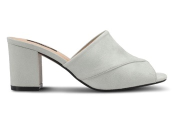 ZALORA V-Upper Slip On Heels