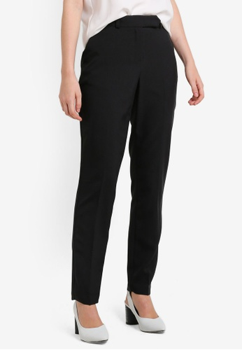 Dorothy Perkins Regular Tab Front Poly Trousers