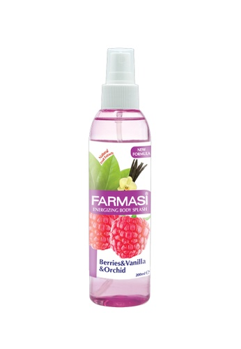 FARMASI COLOUR COSMETICS Body Splash Berries