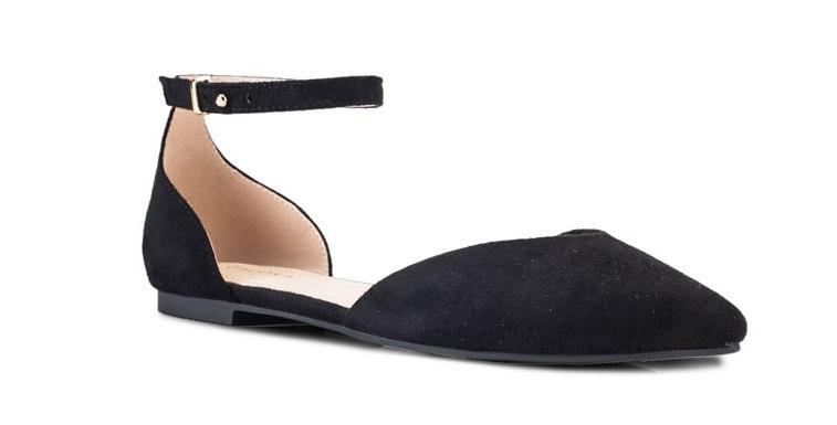 ZALORA Ankle Strap D'Orsay Flats
