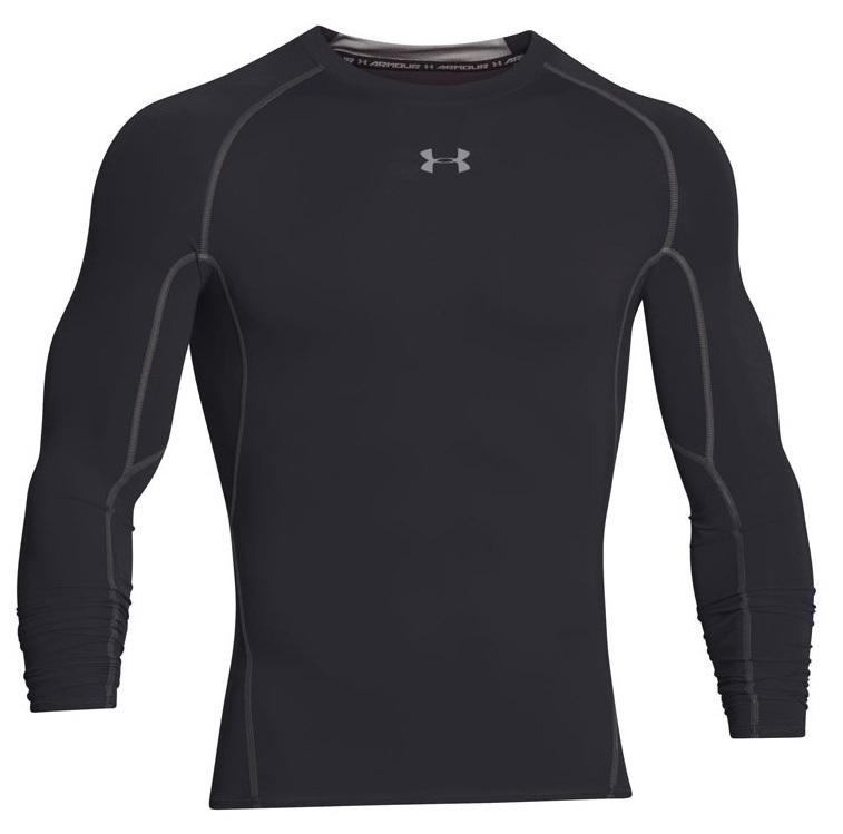 UNDER ARMOUR Men's UA HeatGear® Armour Long Sleeve Compression Shirt