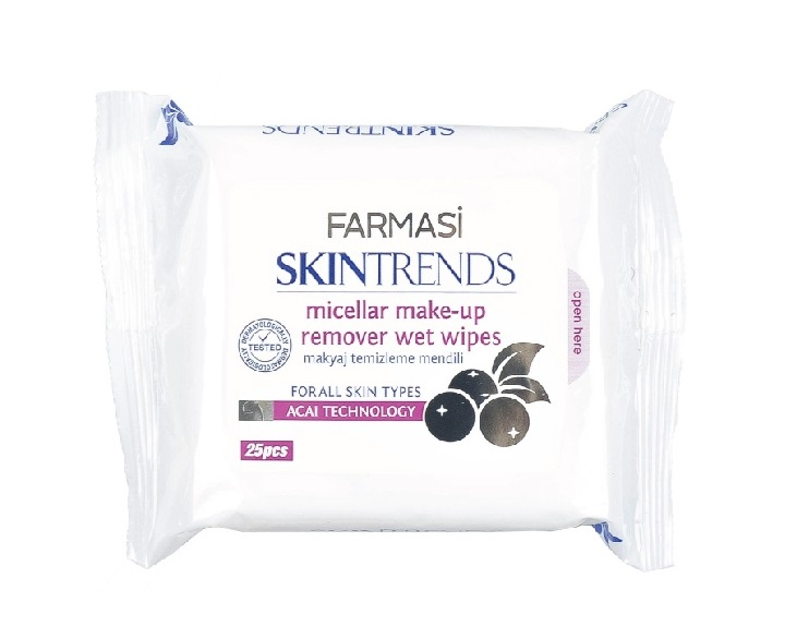 FARMASI COLOUR COSMETICS Micellar Makeup Remover Wet Wipes
