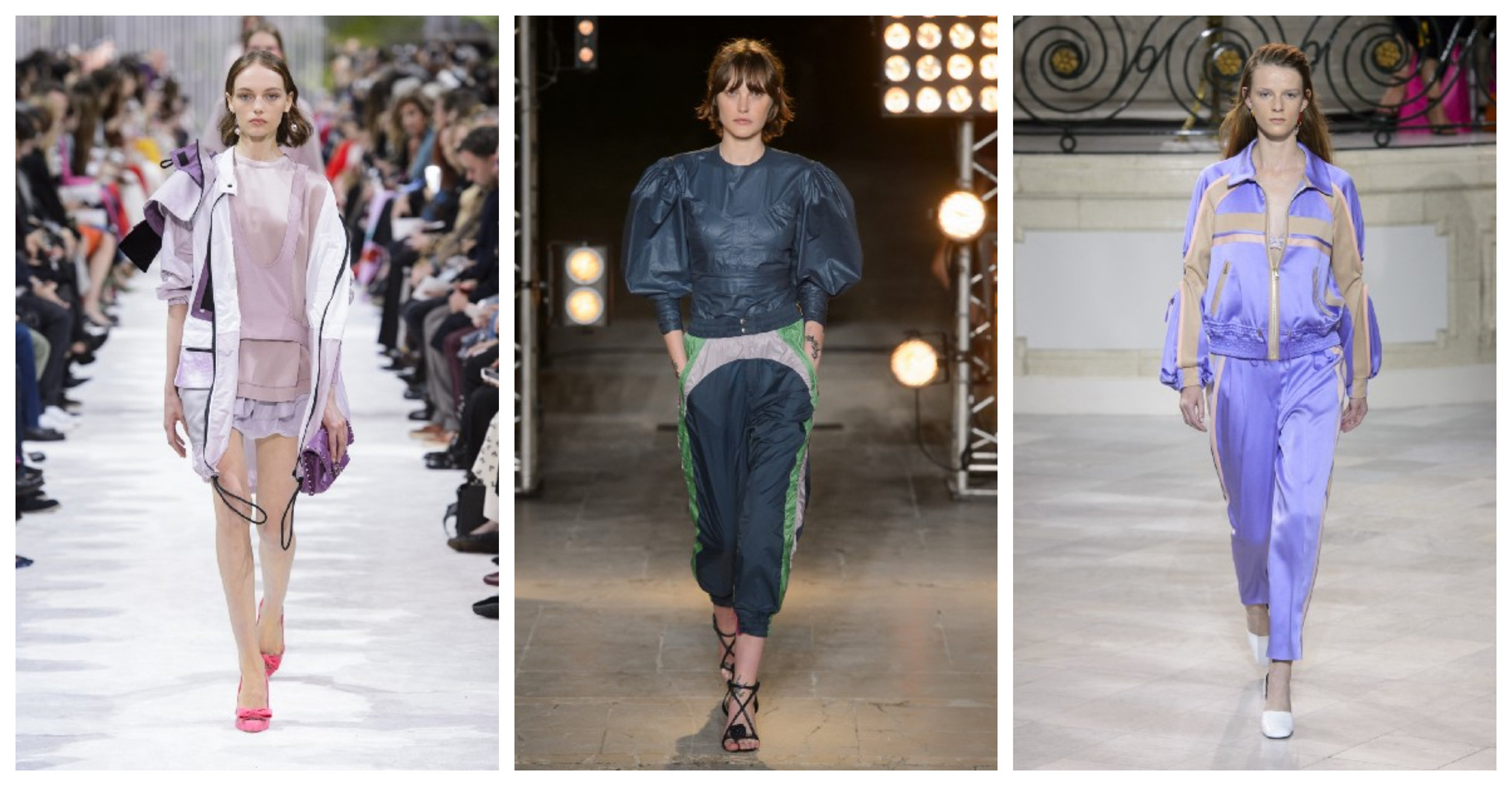 From left: Valentino, Isabel Marant, Peter Pilotto SS18