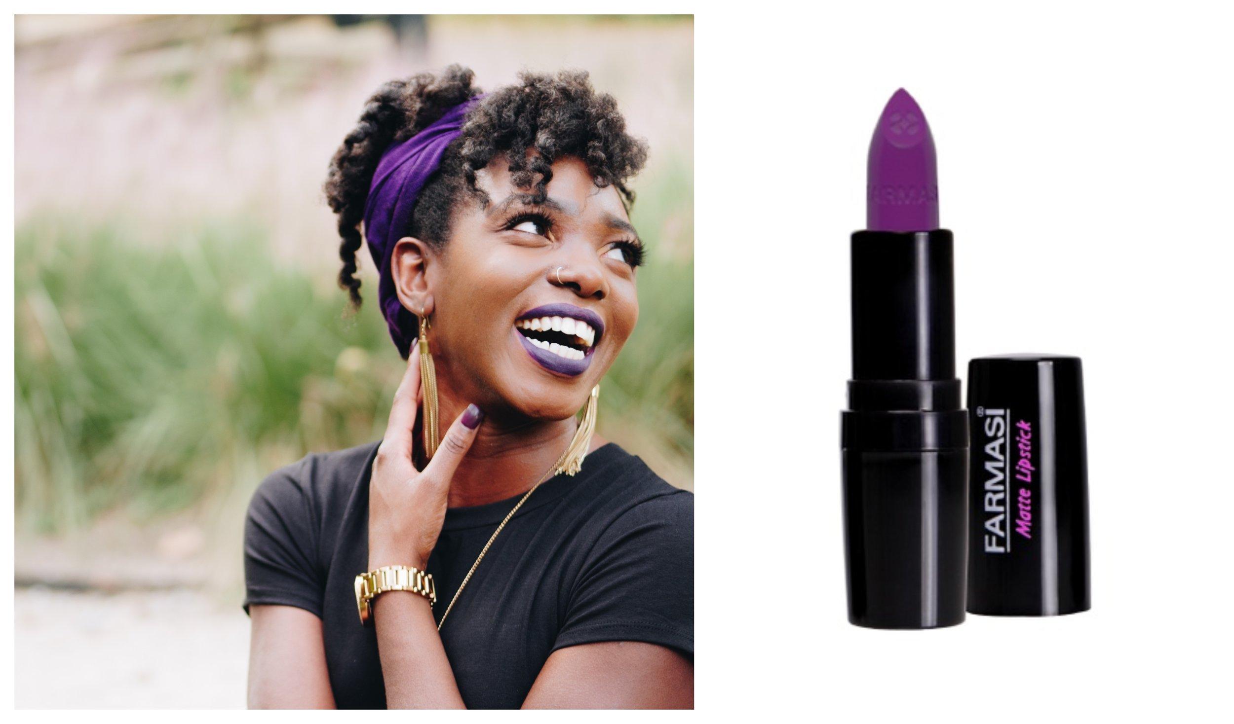 Farmasi Colour Cosmetics Matte Lipstick 20 (Vivid Violet)