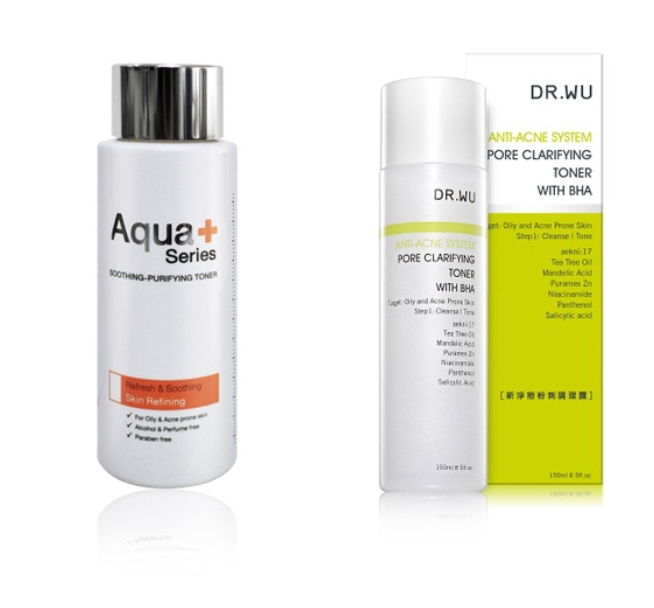 Aqua+ Series Purifying Toner     DR.WU Pore Clarifying Toner With BHA