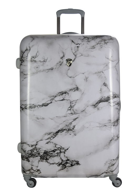 Heys Bianco H-13083 Polycarbonate 28 inch Spinner Hard Case Luggage - White