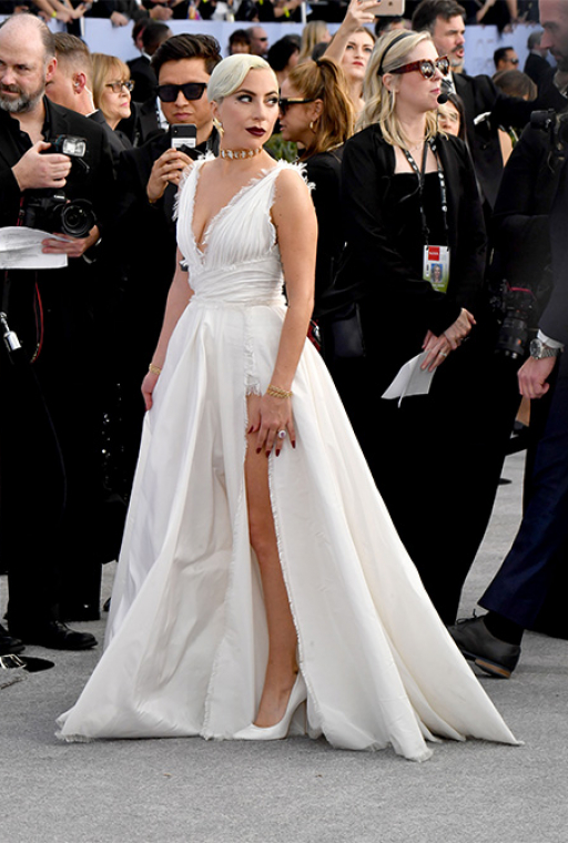 Lady Gaga in Dior Haute Couture
