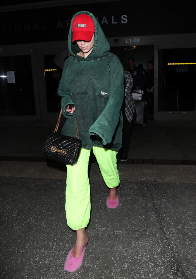 Dua Lipa spotted carrying Versace Quilted Icon Bag (Mar 13).jpg