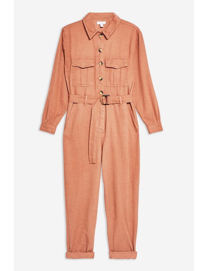 Belted utility boiler suit, Topshop