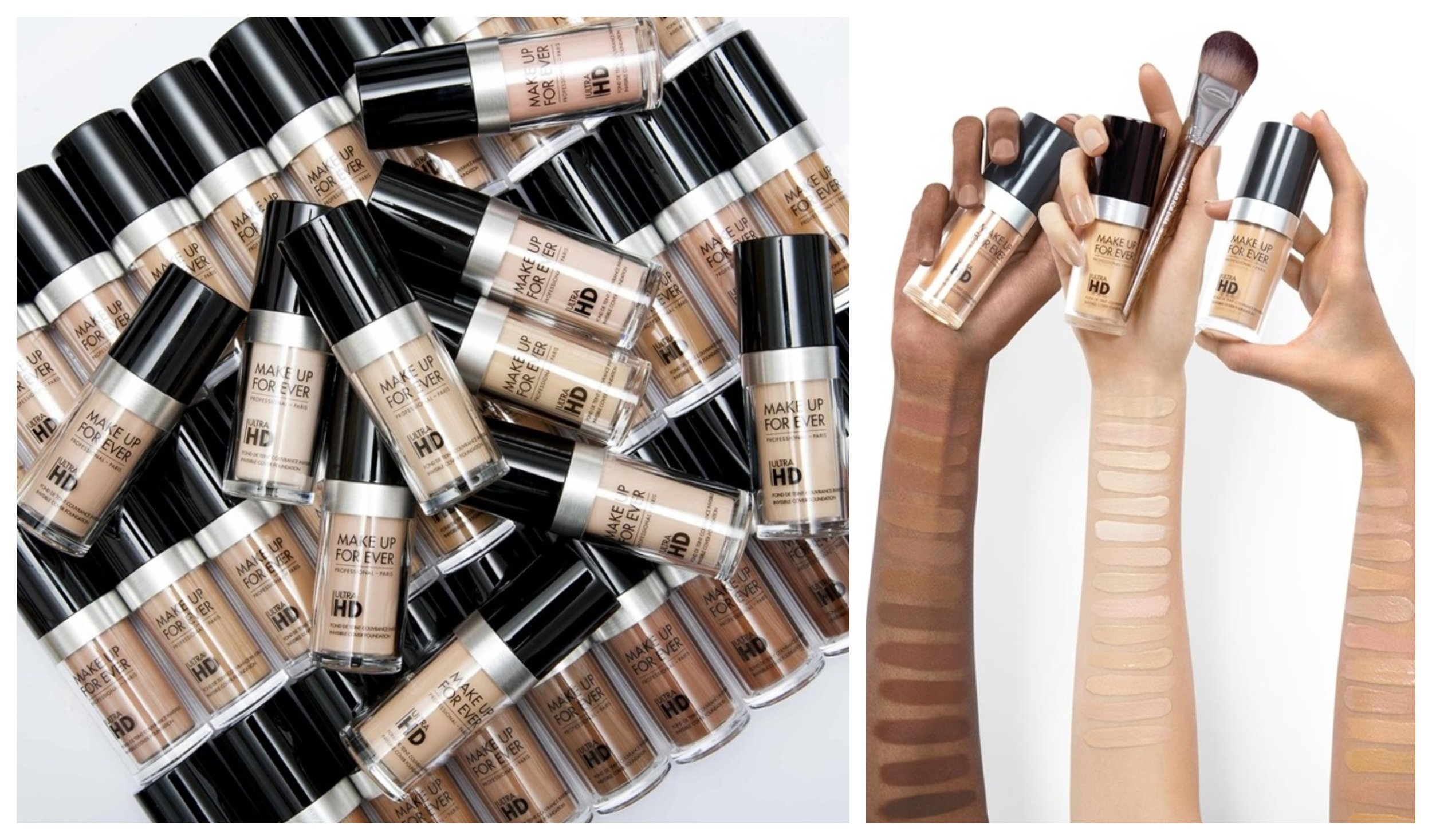 Make Up For Ever Ultra HD Foundation- Fluid Foundation