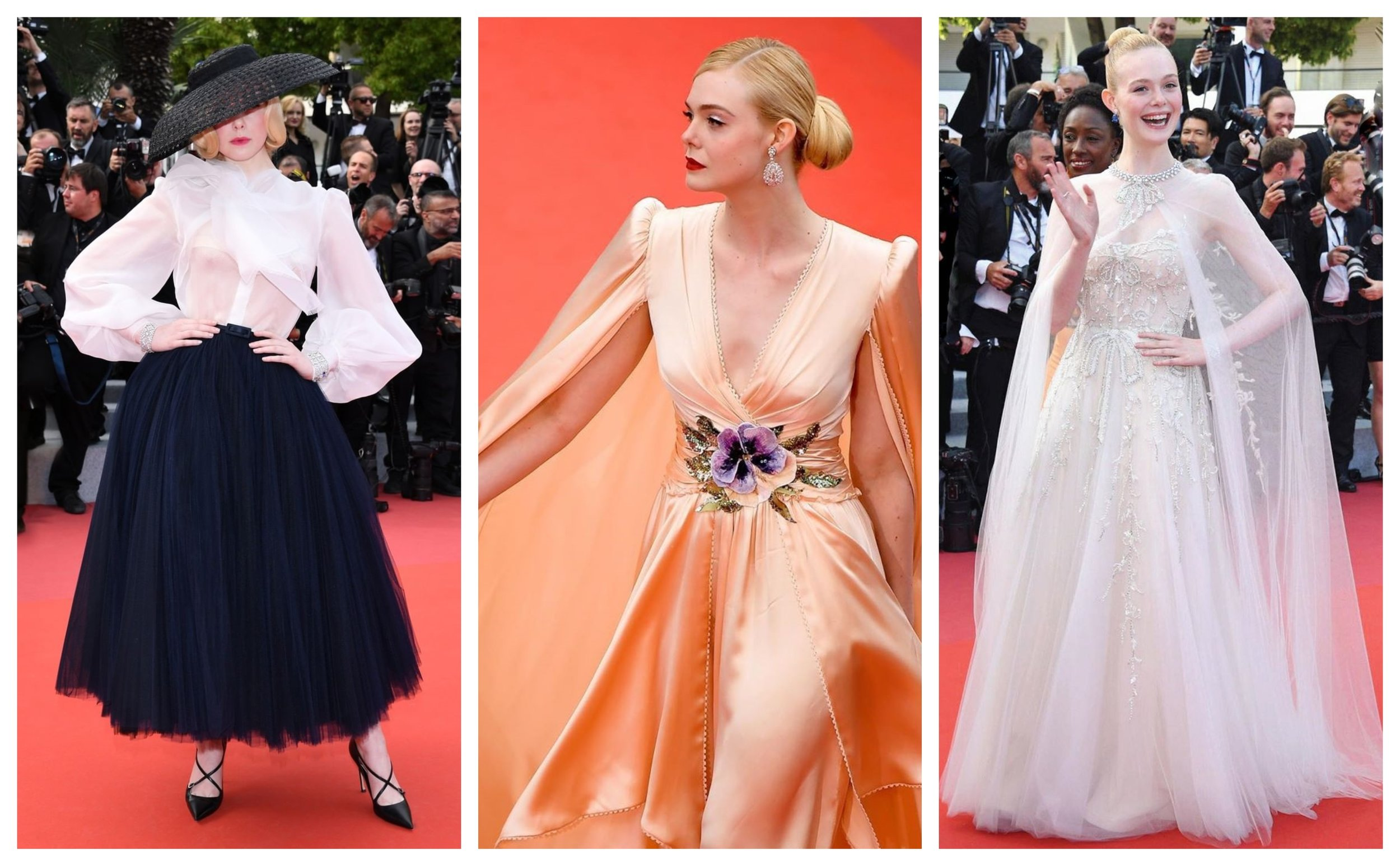 Photos taken from: Dior, Festival de Cannes, and Reem Acra's Instagram.