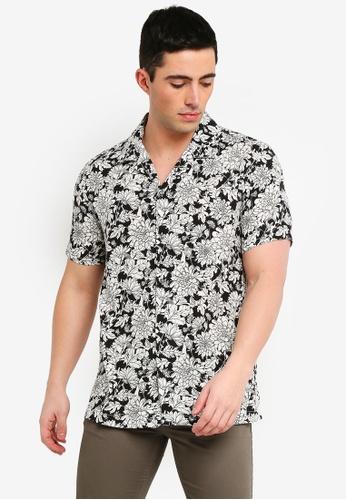 MANGO Man Regular-Fit Floral Print Shirt