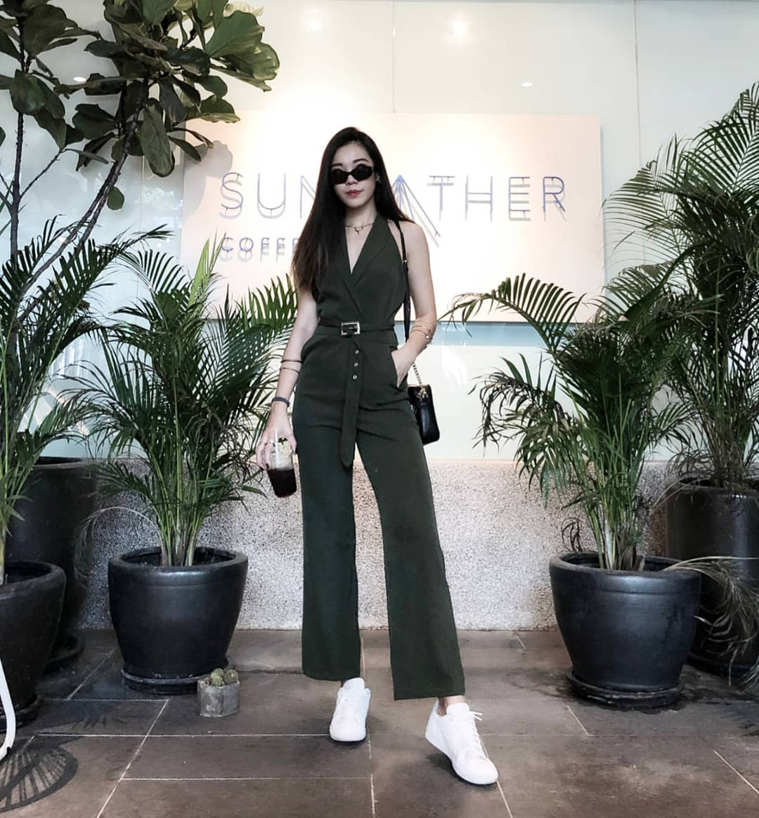 Jumpsuit as seen on  @amandalmy .