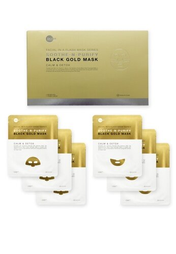 Skin Inc   Soothe-N-Purify Black Gold Mask