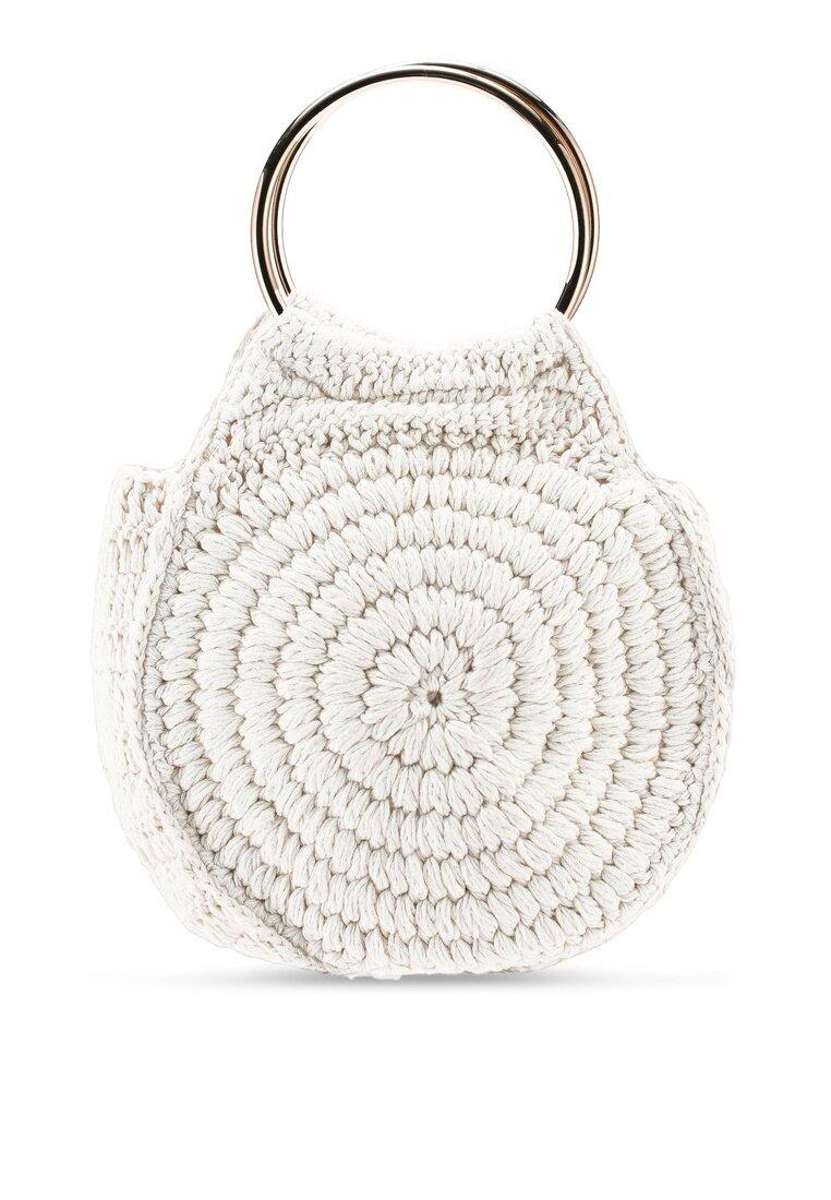 Miss Selfridge Gold Circle Handle Grab Bag