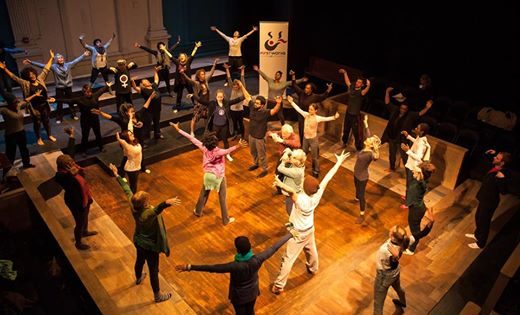 BOLD  Leveraging dance as a catalyst for social change & consistently seeking the broadest range of engagement possible has led UBW to train rigorously in dialogue facilitation, analyzing racism and its manifestations in group dynamics, and in the field of brain compatible dance education (a holistic practice rather than dance instruction as mimicry)—in addition to concert dance technique & performance.