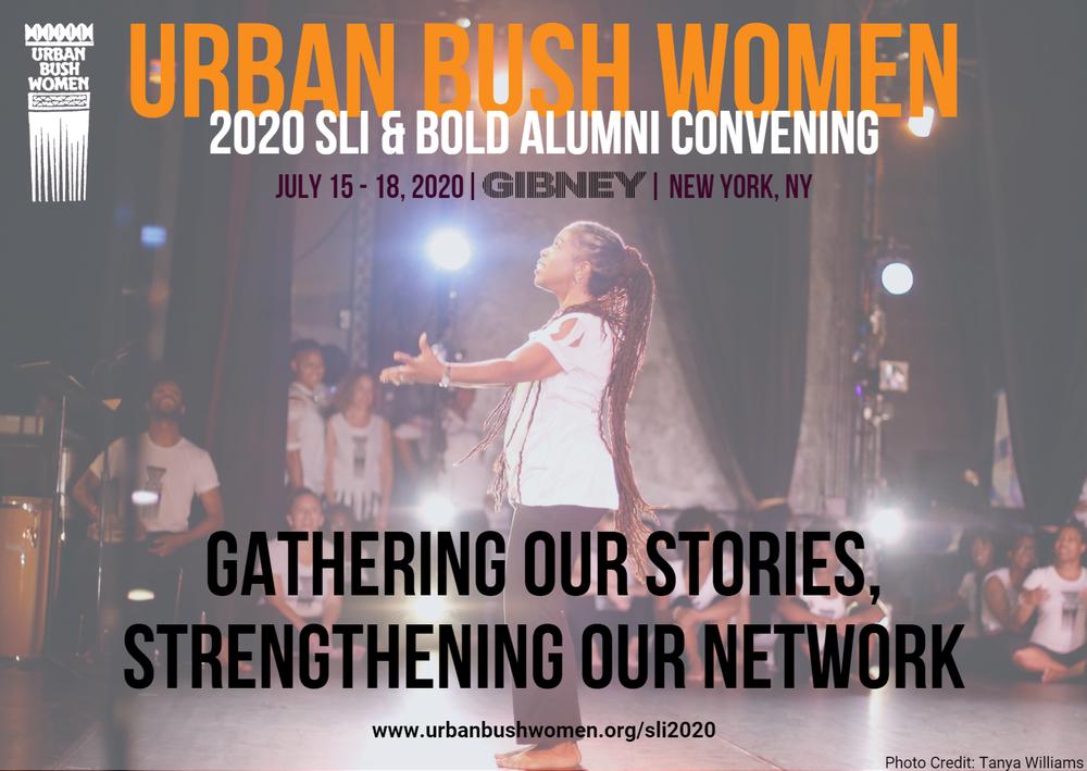 UBW 2020 SLI & BOLD Alumni Convening